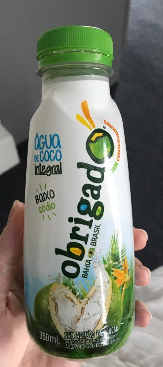 Agua de coco integral - Produto - fr