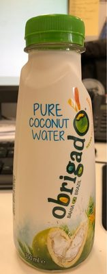 Obrigado Pure Coconut Water 350ml - Product - fr