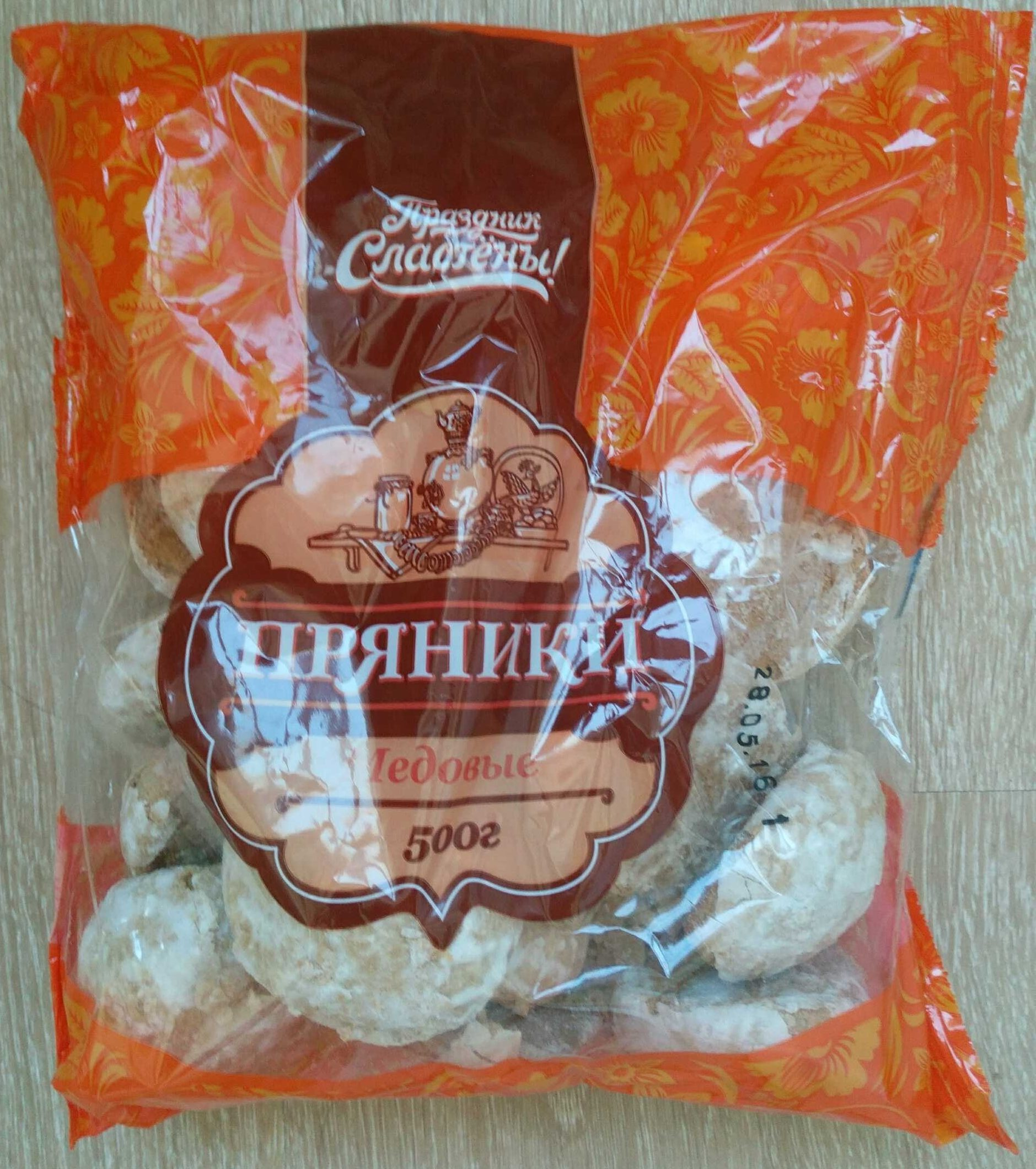 Пряники заварные «Медовые» - Product - ru