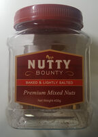 Nutty Bounty Premium Mixed Nuts Baked & Lightly Salted - Product - en