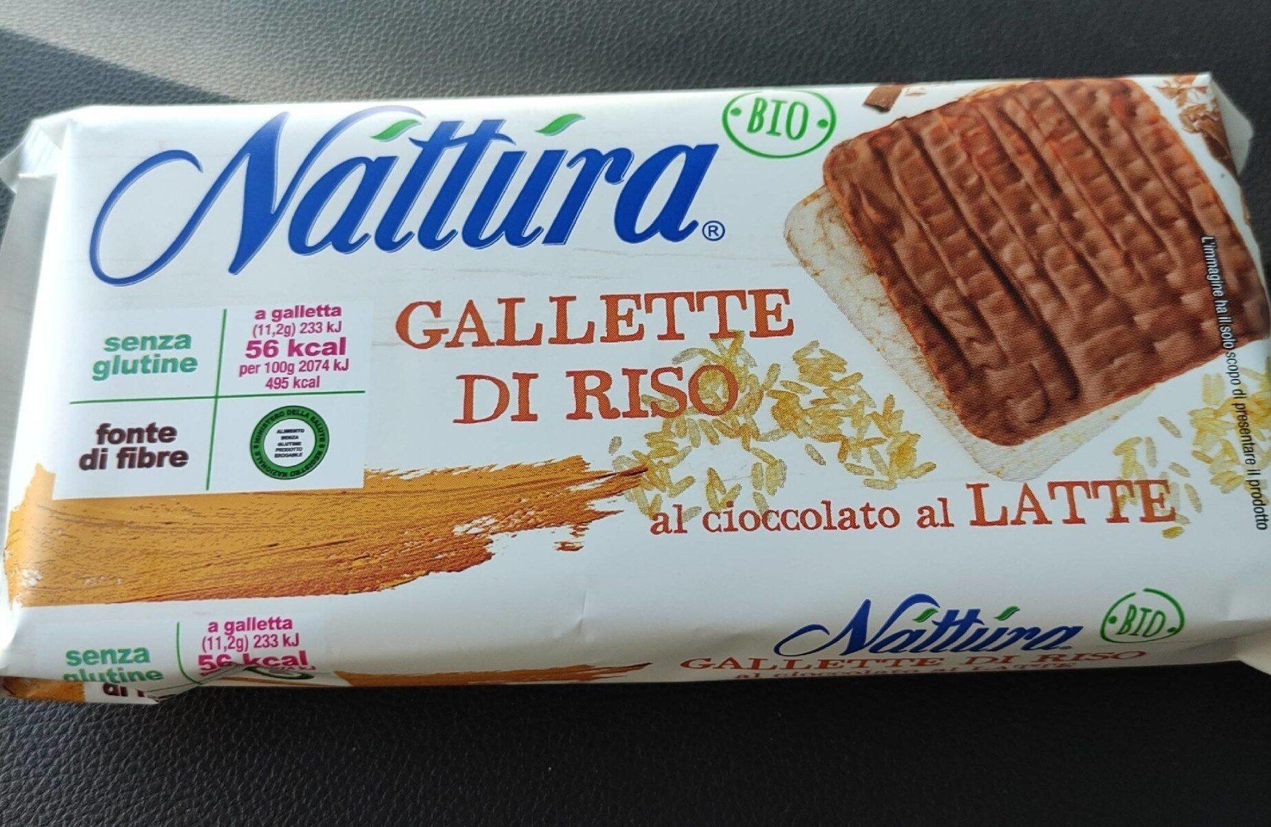 Gallette di riso al cioccolato al latte - Product - it
