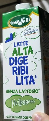 Latte alta digeribilità trevalli - Product - it