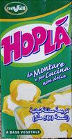 Hopla, crème liquide végétale - Produit - fr