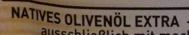 Olivenöl  Bertolli - Ingrediënten
