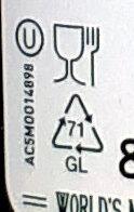 Originale - Istruzioni per il riciclaggio e/o informazioni sull'imballaggio - de