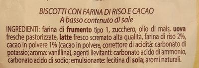 come Fattincasa gusto Energetico - Ingredients