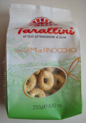 Tarallini con DEMI di FINOCCHIO - Produit - fr