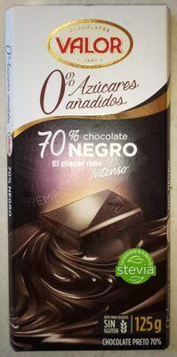 Chocolate Negro 70% sin azucares anadidos - Product - es