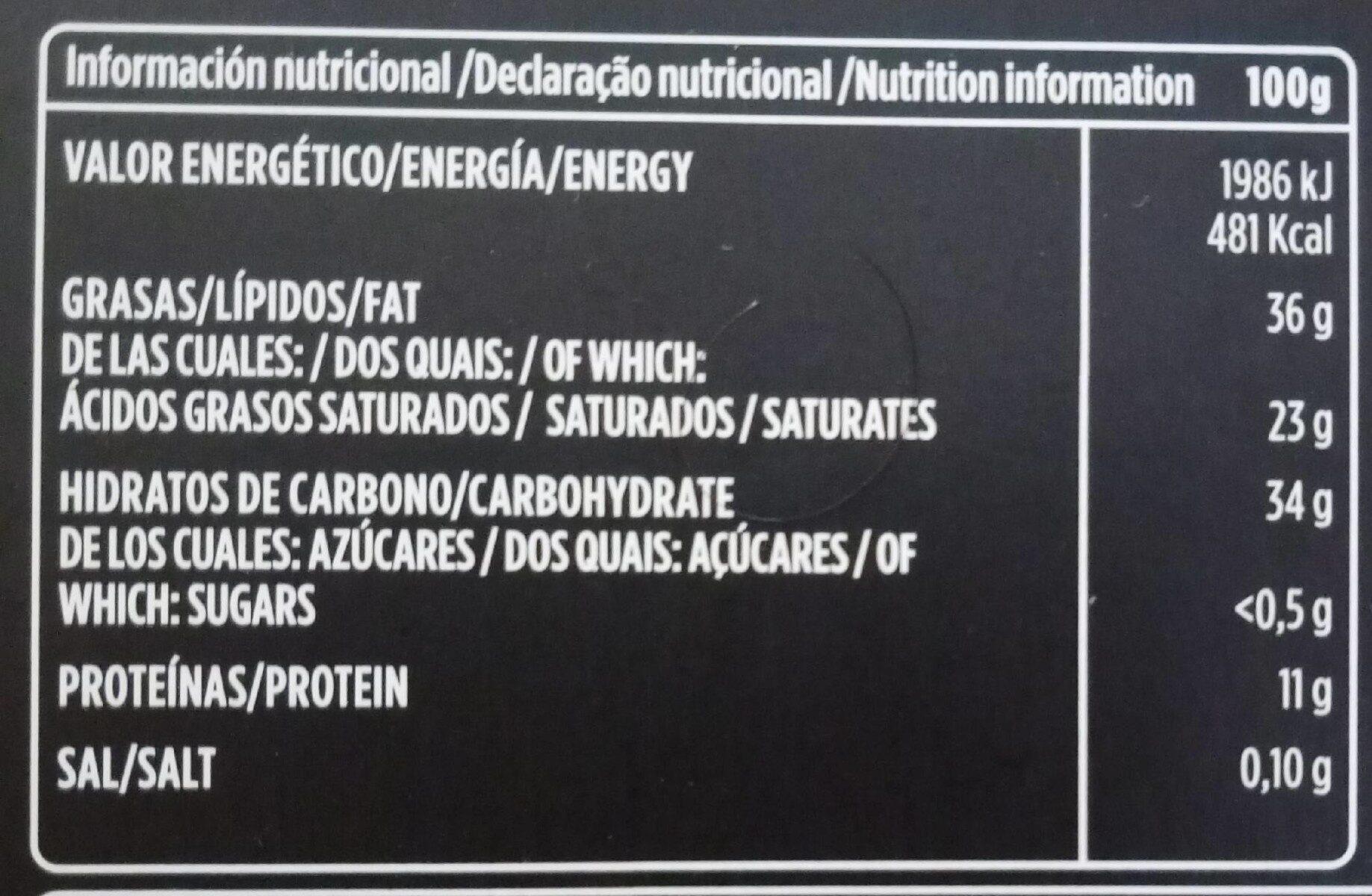 Chocolate Negro 70% sin azucares anadidos - Voedingswaarden - es