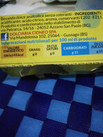 rosolino - Nutrition facts