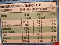 Il mio Brodo Manzo - Informations nutritionnelles - it