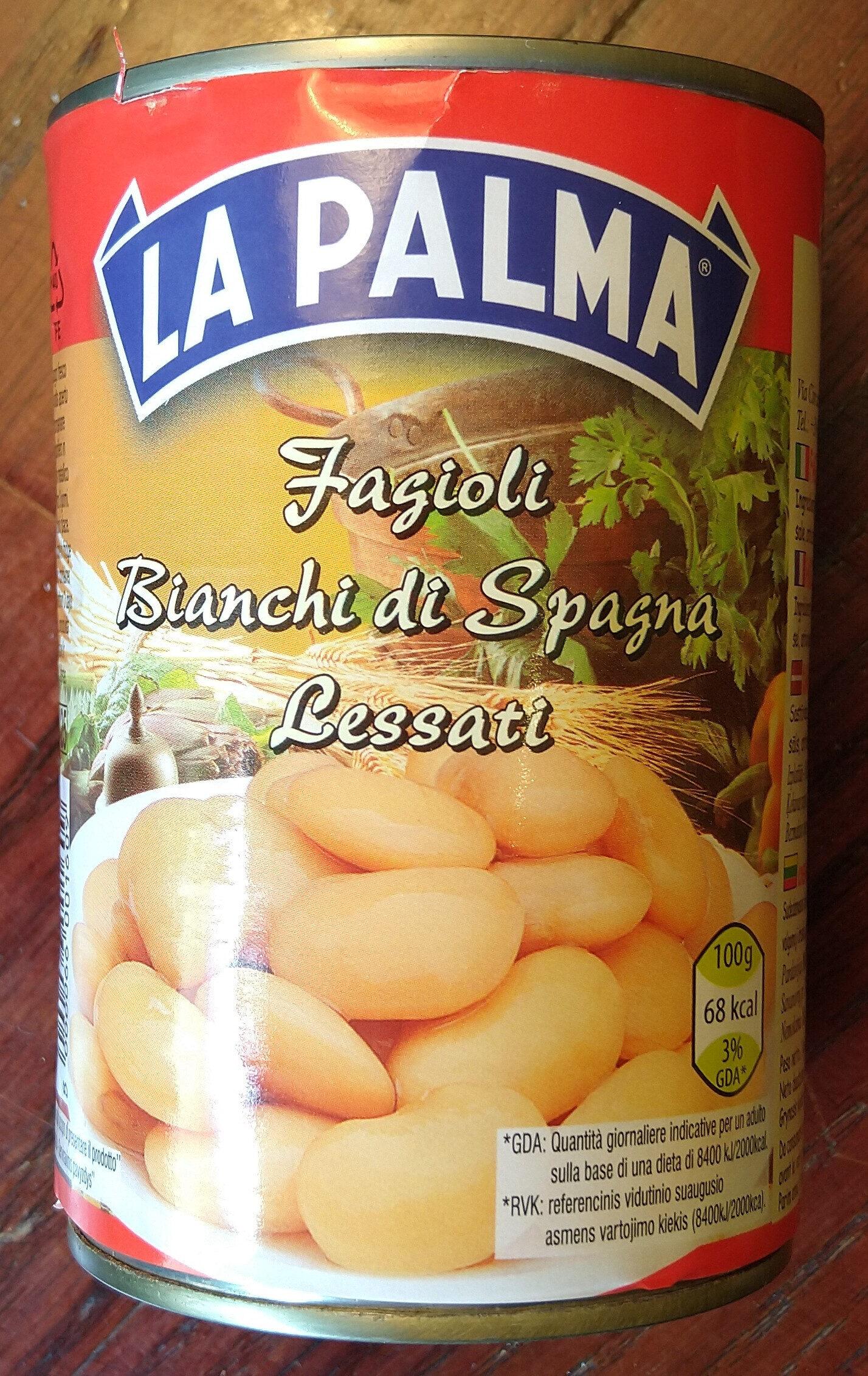 Fagioli Bianchi di Spagna Lessati - Product - it