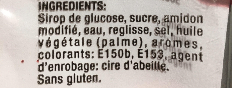 La Pastille Idéale Aromatisée Réglisse - Ingrédients - fr