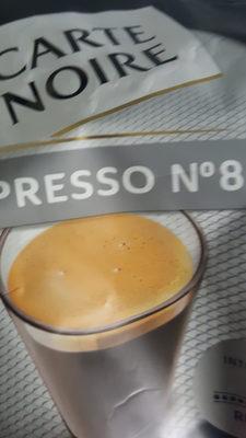 Dosettes de café moulu Espresso n°8 - Product - fr