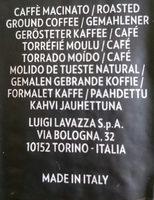 Espresso - Zutaten - de
