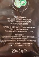 Café dosette - Ingrediënten - fr