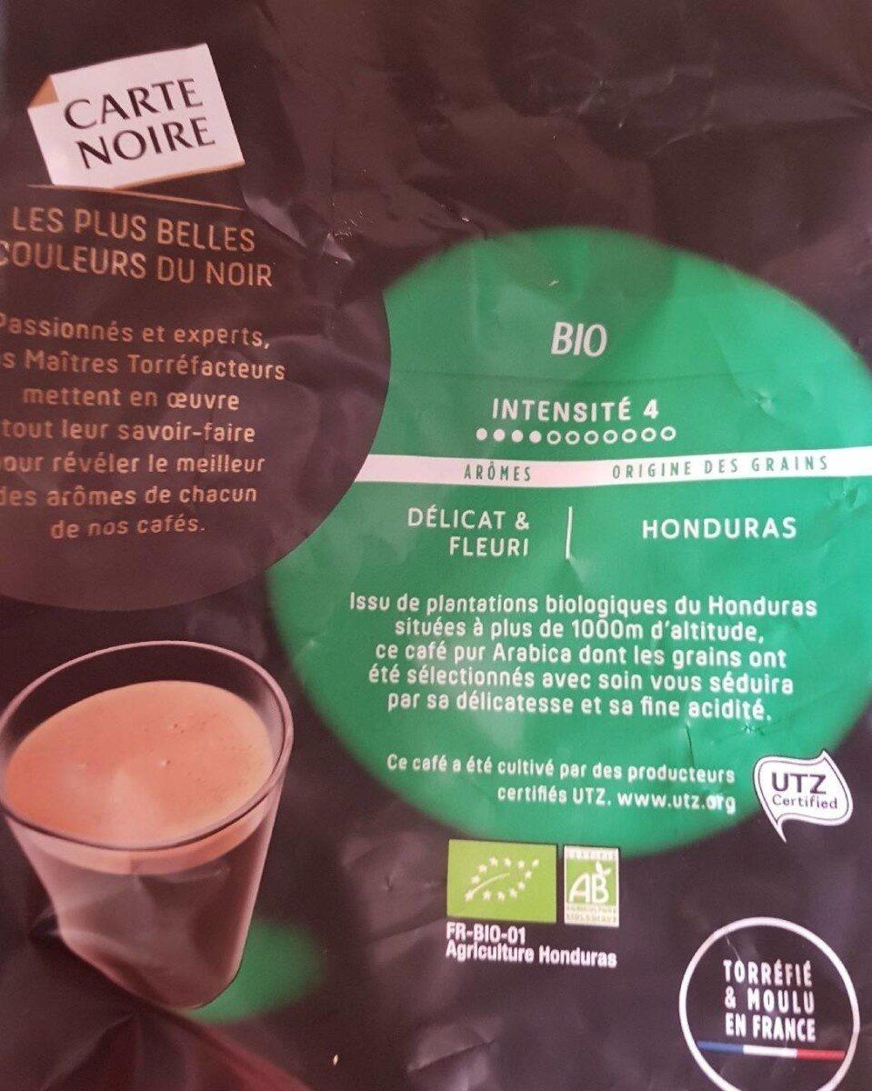 Café Bio 100% arabica en dosette - Valori nutrizionali - fr