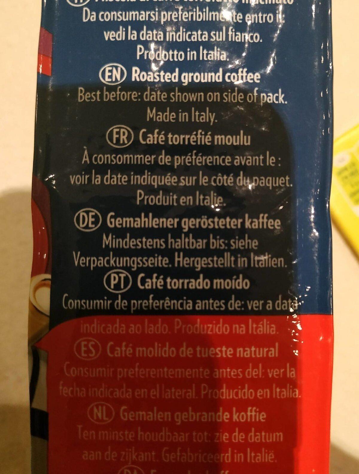 Café molido crema e gusto - 成分 - de