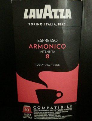 Café espresso Armónico intensidad 8 estuche 10 cápsulas - Product