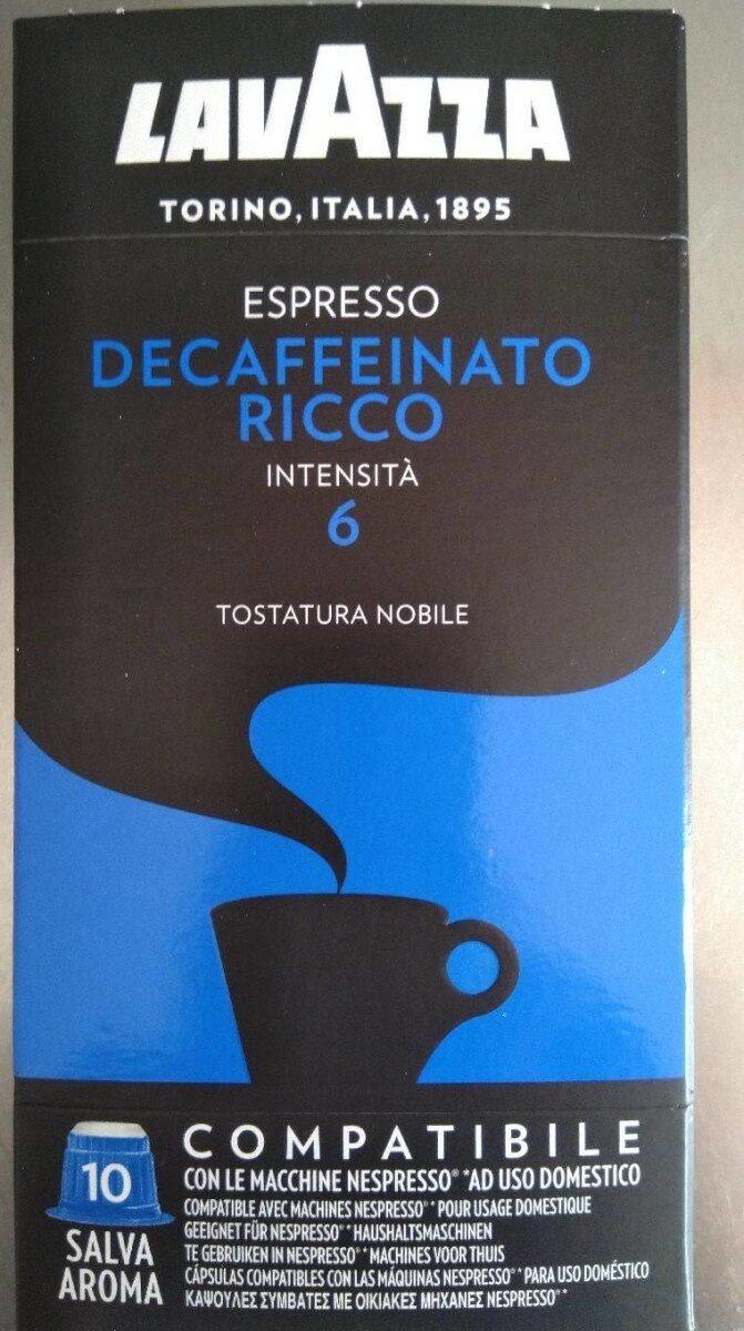 Café decaffeinato ricco - Product - fr