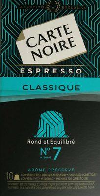 Café capsules Classique n°7 - Espresso - Product
