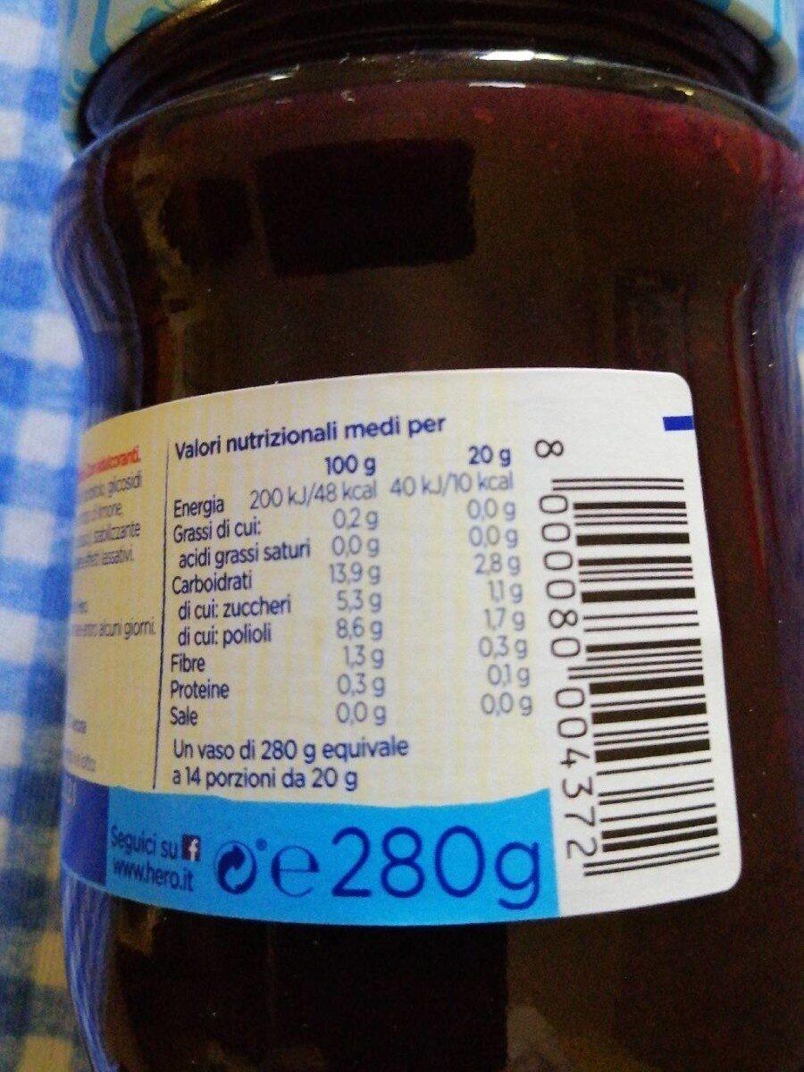 Compote - Voedingswaarden - it