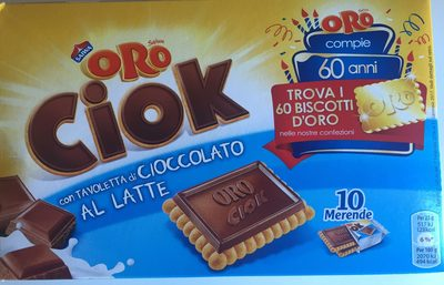 Oro Ciok Cioccolato Al Latte 250G - Producto - fr