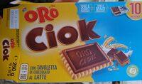 Oro Ciok Cioccolato Al Latte 250G - Prodotto - it