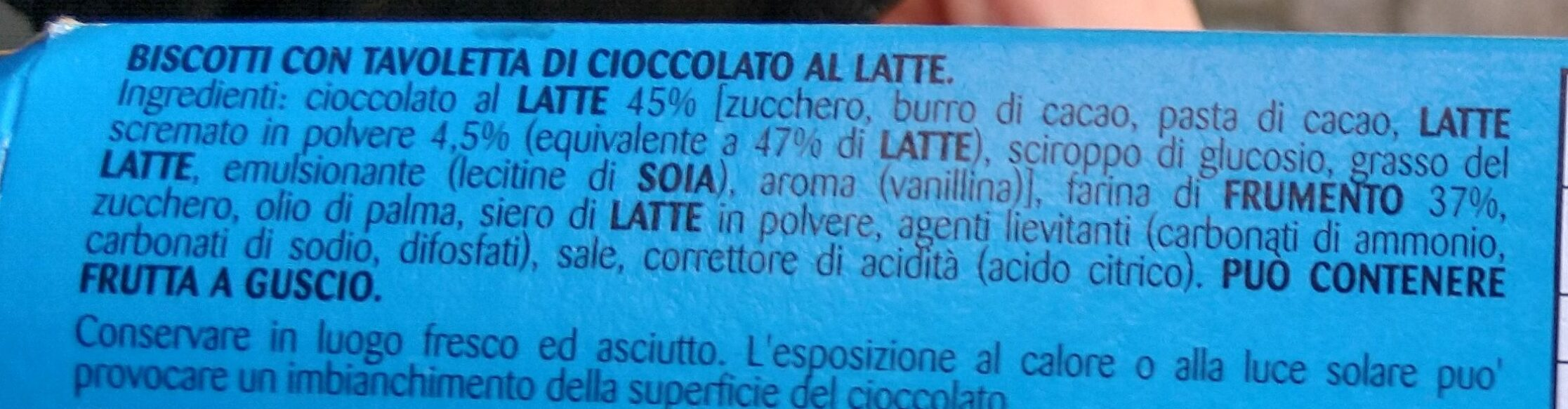 Oro Ciok Cioccolato Al Latte 250G - Ingredienti - it