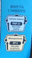 Oro Ciok Cioccolato Al Latte 250G - Istruzioni per il riciclaggio e/o informazioni sull'imballaggio - it