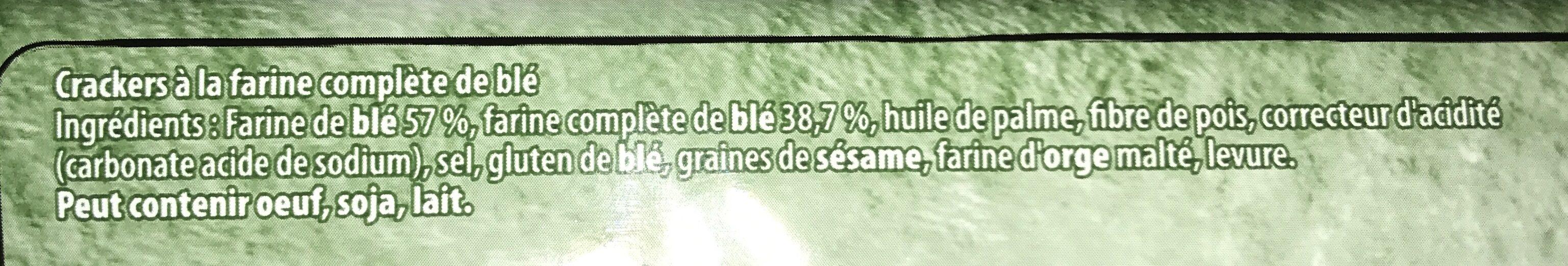 Premium Blé Complet - Ingrédients - fr