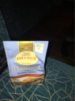 Cantuccini Toscani IGP - Nutrition facts