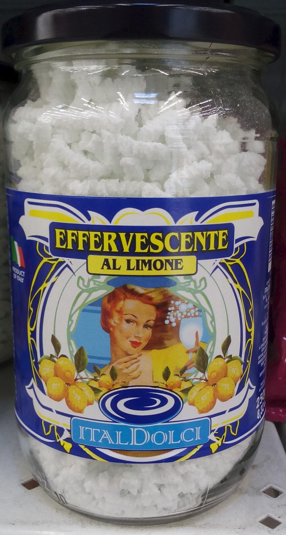 Effervescente al Limone - Product - en