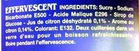 Effervescente al Limone - Ingredients - en