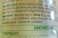 EQUILIBRA Buon Aloe - Ingredients - it