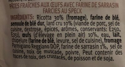 - Ingredienti - fr
