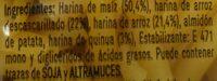 Casarecce senza glutine - Ingrédients - es