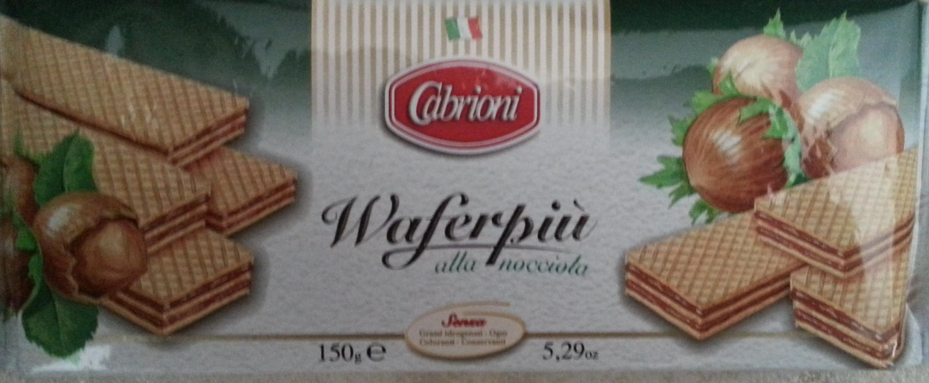 Waferpiù alla nocciola - Product