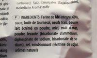 Rustici - Ingredients