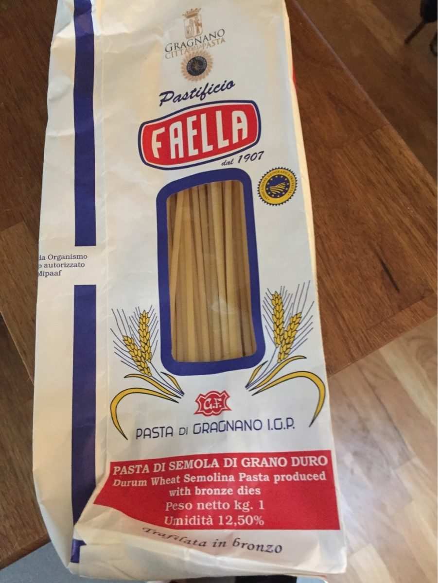 Villanova Bucatini Pastificio Faella 1Kg - Product