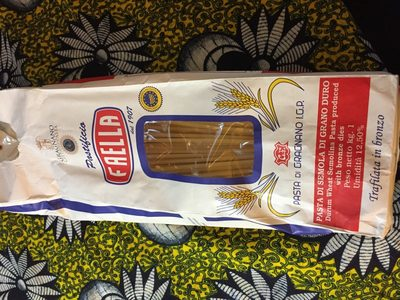 Villanova Bucatini Pastificio Faella 1Kg - Ingredients