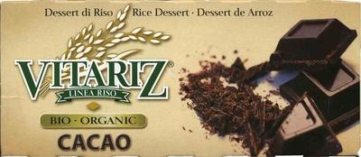 Postre de arroz Cacao