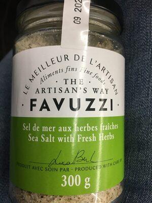 Sel de mer aux herbes fraîches - Produit