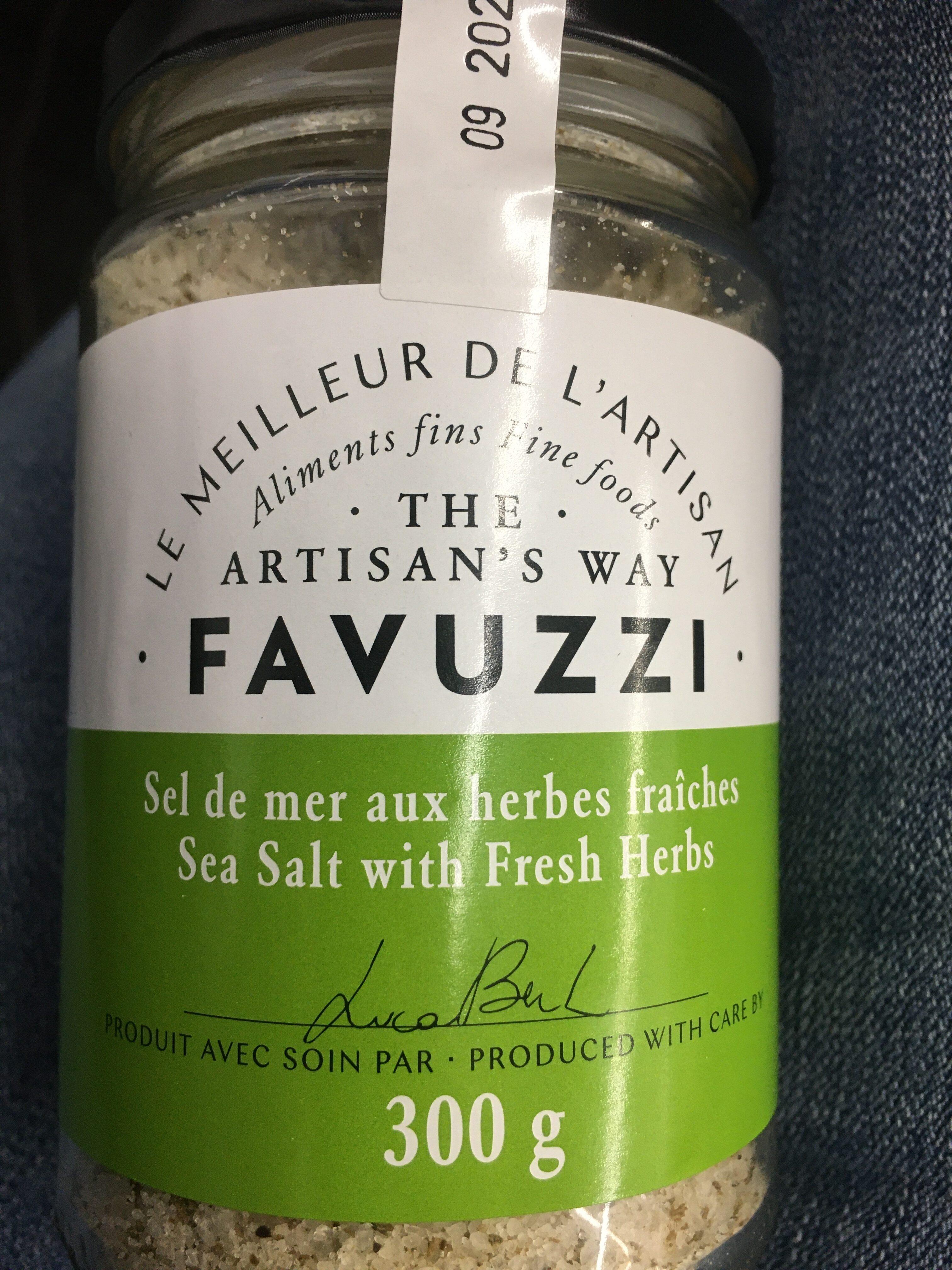 Sel de mer aux herbes fraîches - Produit - fr