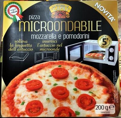 Pizza Microondabile Mozzarella e Pomodorini - Produit