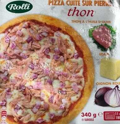 Pizza Cuite Sur Pierre Thon Edam Oignon Rouge Rolli 340 G - Produit - fr