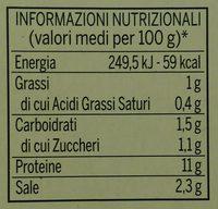 Leggera di pollo - Nutrition facts - it