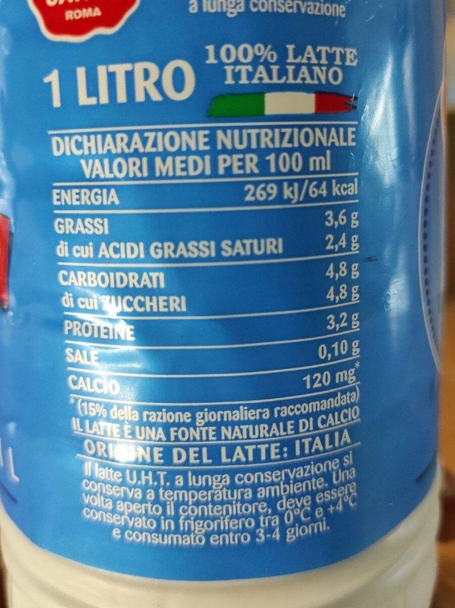 Fattoria latte sano - Valori nutrizionali - it