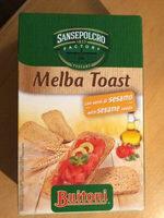 Buitoni Melba Toast Sesam - Produkt - nl