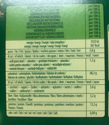 Le Rasagnole - Informations nutritionnelles - es